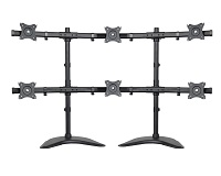 6 Monitor Stand (Dual Base)