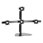 "Quad LCD Multi-Monitor Stand (Supports 24"" on bottom & 30"" on top)"