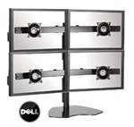 DELL P-Series Quad Monitor LCD Display Array