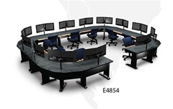 Throng Encompass-2 Workstation (Mountings for 26 Monitors) E4854