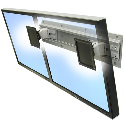 ergotron neo flex dual monitor wall mount. Black Bedroom Furniture Sets. Home Design Ideas