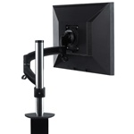 Chief KONTOUR K2C100 | Column-Pole Clamp | Single Monitor Mount