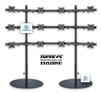 SUPER PC | 12 Monitor Floor Stand | SPC12MFS4X3