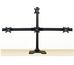 "SUPER PC Pyramid Deluxe Quad Mount (Free Standing up to 28"")"