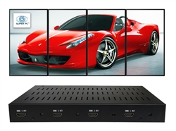 SUPER PC | Quad Display (Vertical-Portrait Mode) Video Wall Controller