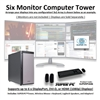 SUPER PC | Six Monitor Workstation | 7th Gen Intel Core i7 Eight Core CPU
