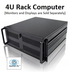 SUPER PC | 18 Monitor 4U Rackmount | Fastest Intel Core i7 Quadcore CPU