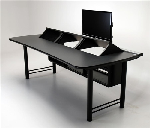 Super Pc Transform Console Desk With Rackmount Bays