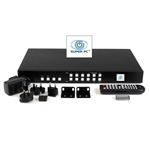 SUPER PC | 4x4 HDMI Matrix Switcher | 4x1 Multiviewer | 2x2 Video Wall Controller | 3-in-1 Unit