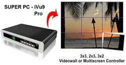 iVu9s Pro - Stand Alone Video Wall | Multi-Monitor Controller