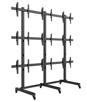 SUPER PC | 3x3 Video Wall Mount Floor-Stand