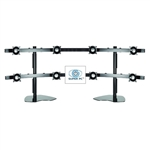 SUPER PC | Eight LCD Multi-Monitor Stand (Supports up to 8 x 24 Inch LCDs)