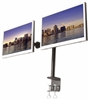 SUPER PC | Dual LCD Mount with C-clamp
