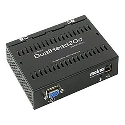 Matrox Graphics eXpansion Module DualHead2Go Digital Edition - Video converter - VGA - 2 x DVI