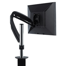 Chief KONTOUR™ Dynamic Column Clamp Mount, Single Monitor Mount