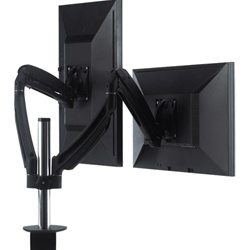 Chief KONTOUR™ Dynamic Column Clamp Mount, Dual Monitor
