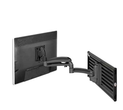 SUPER PC | Kontour K1S Dynamic Slatwall Mount, 1 Monitor