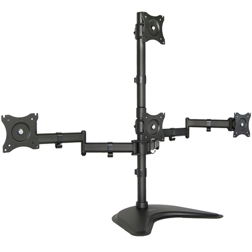 Super Pc Quad Monitor Desk Stand