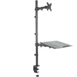 SUPER PC | Monitor + Laptop Extra Tall Desk Mount