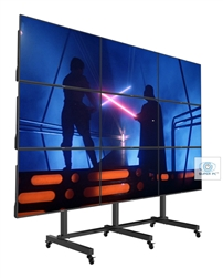 SUPER PC | 9 Display [3x3] Video Wall | Complete Free-Standing Solution | 12K | 72MP | 6480p