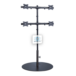 SUPER PC | 4 Monitor Floor Stand | SPC4MFS2X2A