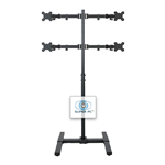 SUPER PC | 4 Monitor Floor Stand | SPC4MFS2X2C