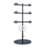 SUPER PC | 6 Monitor Floor Stand | SPC6MFS2X3A