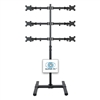 SUPER PC | 6 Monitor Floor Stand | SPC6MFS2X3C