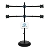 SUPER PC | 3x2 Six Monitor Floor Stand | SPC6MFS3X2B
