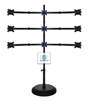 SUPER PC | 3x3 Nine Monitor Floor Stand | SPC9MFS3X3B