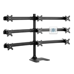 SUPER PC | 9 Monitor Desk Stand Single Base