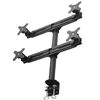 SUPER PC | Quad Monitor Desk Clamp Mount