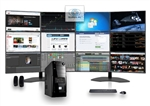 SUPER PC | Twelve Screen Computer and 12 x LED Display Array | Complete Quad Core i7 System