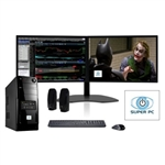 SUPER PC | Two Monitor Computer and Dual LED Display Array | Intel Core i5 Complete System!