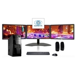 SUPER PC | Three Monitor Computer and Triple LED Display Array | Complete Core i5 System