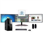 SUPER PC | Triple Monitor Computer and Three LED Display Array | Complete Eight-Core i7 System