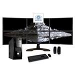 SUPER PC | Six Screen Computer and 3 x 2 LED Display Array | Complete Quad Core i5 System
