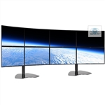 SUPER PC | Eight Monitor Array with 8 x Curved Syncmaster LED Displays