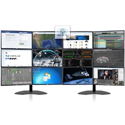 SUPER PC | Twelve Monitor Array with 12 x DELL Professional LED Displays