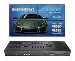 SUPER PC | True 4K UHD Quad Display Video Wall Controller | 1 x 2160p Input & 4 x 1080p Outputs