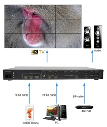 SUPER PC | 4K | 9 SCREEN VIDEO WALL CONTROLLER