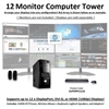 SUPER PC | Twelve Display Mid-Tower | 5th Gen Intel Core i7 Six Core CPU