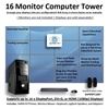 SUPER PC | 16 Monitor Mid-Tower | 4th Gen Intel Core i7 Quadcore CPU