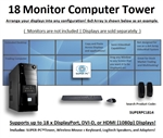 SUPER PC | 18 Monitor Mid-Tower | 5th Gen Intel Core i7 Six Core CPU