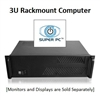 SUPER PC | Quad Monitor 3U Rackmount | 7th Gen Intel Core i7 Quadcore CPU