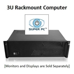 SUPER PC | Quad Monitor 3U Rackmount | 7th Gen Intel Core i5 Quadcore CPU