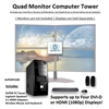 SUPER PC | Quad Monitor Desktop PC | 7th Gen Intel Core i7 Quad-Core CPU