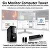 SUPER PC | Six Monitor Mid-Tower | 5th Gen Intel Core i7 Six Core CPU