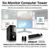 SUPER PC | Six Monitor Mid-Tower | 7th Gen Intel Core i7 Eight Core CPU