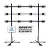 SUPER PC | 4 x 3 Monitor Mount | Portable Video Wall Floor Stand for up to 12 x 27 inch Displays